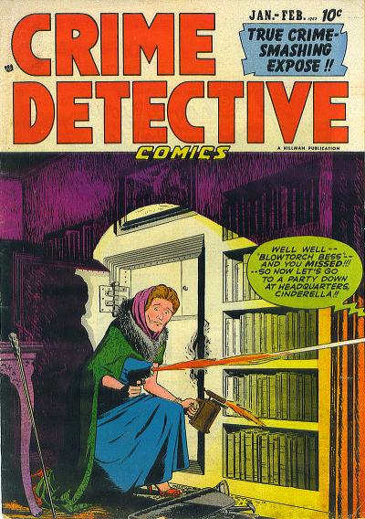 Cover for Crime Detective Comics (Hillman, 1948 series) #v2#12