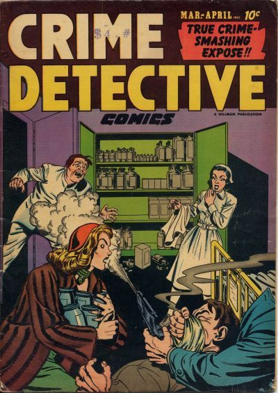 Cover for Crime Detective Comics (Hillman, 1948 series) #v3#1