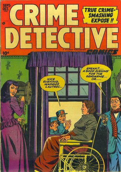 Cover for Crime Detective Comics (Hillman, 1948 series) #v3#4