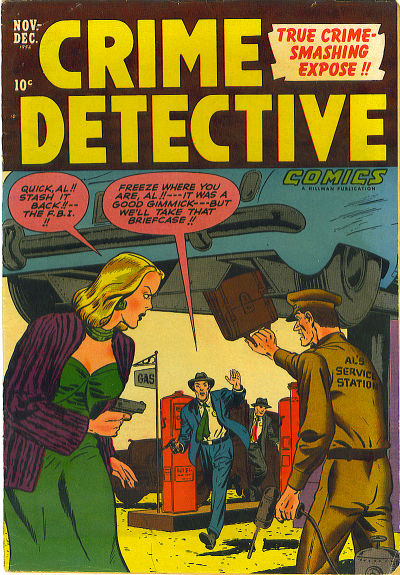 Cover for Crime Detective Comics (Hillman, 1948 series) #v3#5