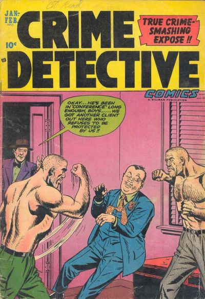 Cover for Crime Detective Comics (Hillman, 1948 series) #v3#6