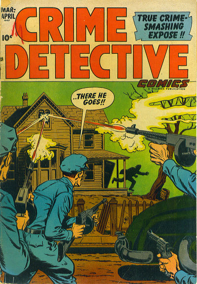 Cover for Crime Detective Comics (Hillman, 1948 series) #v3#7