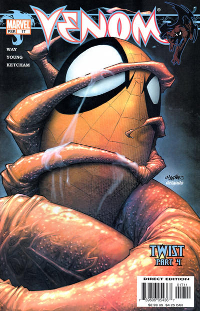 Cover for Venom (Marvel, 2003 series) #17
