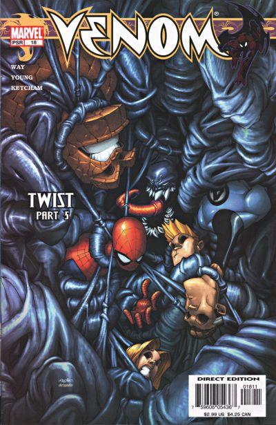 Cover for Venom (Marvel, 2003 series) #18