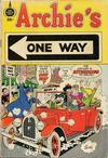 Cover for Archie's One Way (Fleming H. Revell Company, 1973 series) #[nn] [39-Cent Variant]