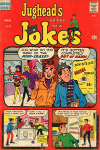 Cover Thumbnail for Jughead's Jokes (Archie, 1967 series) #4