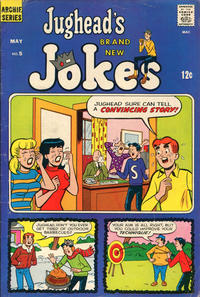Cover Thumbnail for Jughead's Jokes (Archie, 1967 series) #5