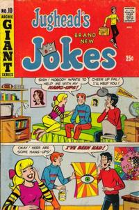 Cover Thumbnail for Jughead's Jokes (Archie, 1967 series) #10