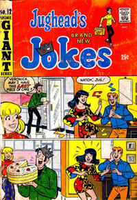 Cover Thumbnail for Jughead's Jokes (Archie, 1967 series) #12