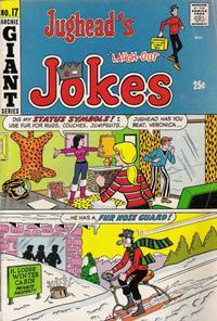 Cover Thumbnail for Jughead's Jokes (Archie, 1967 series) #17