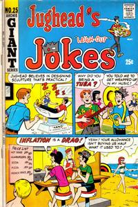 Cover Thumbnail for Jughead's Jokes (Archie, 1967 series) #25