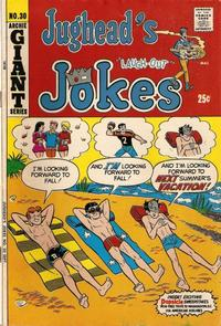 Cover for Jughead's Jokes (Archie, 1967 series) #30