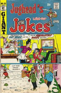 Cover Thumbnail for Jughead's Jokes (Archie, 1967 series) #33