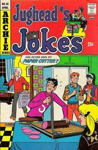 Cover Thumbnail for Jughead's Jokes (Archie, 1967 series) #38
