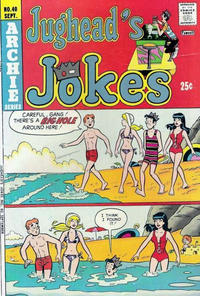 Cover Thumbnail for Jughead's Jokes (Archie, 1967 series) #40
