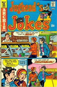 Cover Thumbnail for Jughead's Jokes (Archie, 1967 series) #47