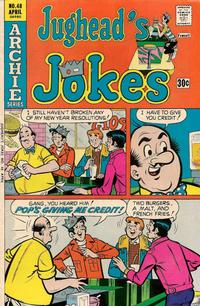 Cover Thumbnail for Jughead's Jokes (Archie, 1967 series) #48