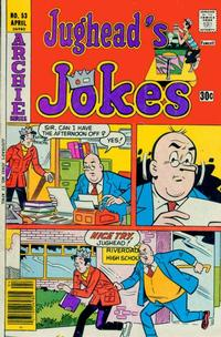Cover Thumbnail for Jughead's Jokes (Archie, 1967 series) #53