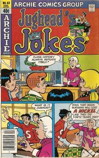 Cover Thumbnail for Jughead's Jokes (Archie, 1967 series) #63