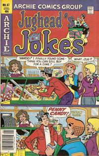 Cover Thumbnail for Jughead's Jokes (Archie, 1967 series) #67