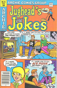Cover Thumbnail for Jughead's Jokes (Archie, 1967 series) #73