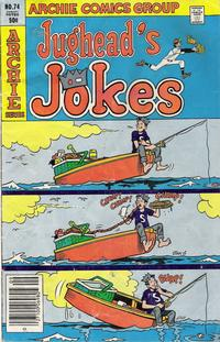 Cover Thumbnail for Jughead's Jokes (Archie, 1967 series) #74