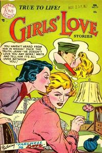 Cover Thumbnail for Girls' Love Stories (DC, 1949 series) #21