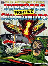 Cover Thumbnail for Undersea Fighting Commandos (Avon, 1952 series) #1