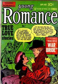 Cover Thumbnail for Young Romance (Prize, 1947 series) #v2#1 (7)
