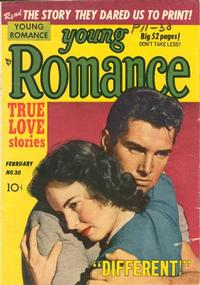 Cover Thumbnail for Young Romance (Prize, 1947 series) #v4#6 (30)