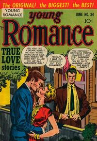 Cover Thumbnail for Young Romance (Prize, 1947 series) #v4#10 (34)