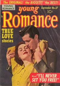 Cover Thumbnail for Young Romance (Prize, 1947 series) #v5#1 (37)