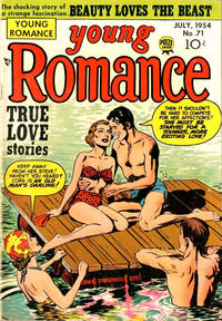 Cover Thumbnail for Young Romance (Prize, 1947 series) #v7#11 (71)