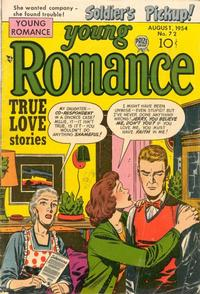 Cover Thumbnail for Young Romance (Prize, 1947 series) #v7#12 (72)