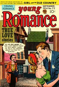 Cover Thumbnail for Young Romance (Prize, 1947 series) #v8#1 (73)