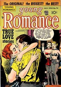 Cover Thumbnail for Young Romance (Prize, 1947 series) #v8#2 (74)