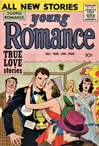 Cover Thumbnail for Young Romance (Prize, 1947 series) #v12#1 [97]