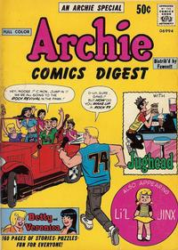 Cover Thumbnail for Archie Comics Digest (Archie, 1973 series) #1