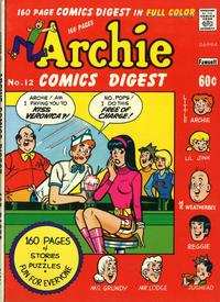 Cover Thumbnail for Archie Comics Digest (Archie, 1973 series) #12