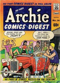 Cover Thumbnail for Archie Comics Digest (Archie, 1973 series) #14