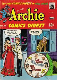Cover Thumbnail for Archie Comics Digest (Archie, 1973 series) #15