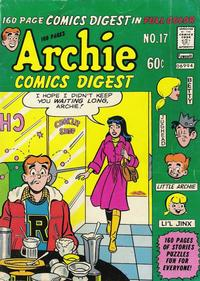 Cover Thumbnail for Archie Comics Digest (Archie, 1973 series) #17