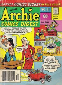 Cover Thumbnail for Archie Comics Digest (Archie, 1973 series) #21