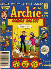Cover Thumbnail for Archie Comics Digest (Archie, 1973 series) #24