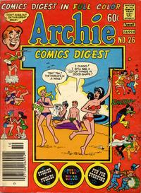 Cover Thumbnail for Archie Comics Digest (Archie, 1973 series) #26