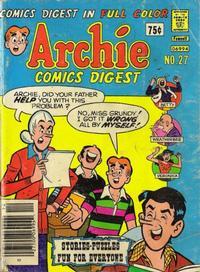 Cover Thumbnail for Archie Comics Digest (Archie, 1973 series) #27