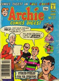 Cover Thumbnail for Archie Comics Digest (Archie, 1973 series) #27
