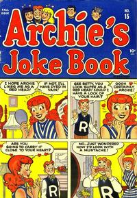 Cover Thumbnail for Archie's Joke Book Magazine (Archie, 1953 series) #v1#15