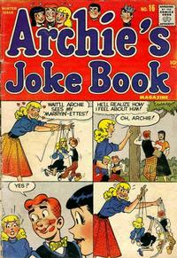 Cover Thumbnail for Archie's Joke Book Magazine (Archie, 1953 series) #16