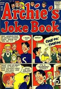 Cover Thumbnail for Archie's Joke Book Magazine (Archie, 1953 series) #17